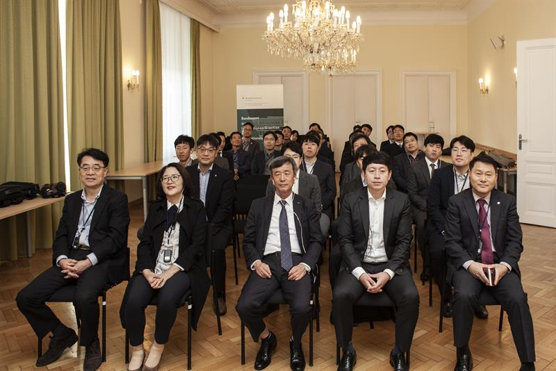 Picture for article: IACA Delegation from Korea at the Federal Bureau of Anti-Corruption